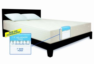 serta 10inch gel memory foam mattress is a quality mattress you donu0027t need to worry about the longevity because itu0027s made in the usa