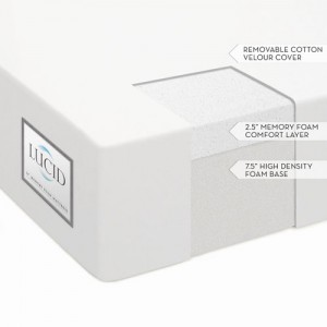 lucid by linenspa 10u2033 memory foam firm mattress vs sleep innovations 10u2033 memory foam mattress