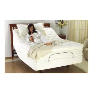 12-inch deluxe memory foam mattress for adjustable bed base