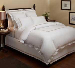 Hotel Stitch Bedding from Pinzon