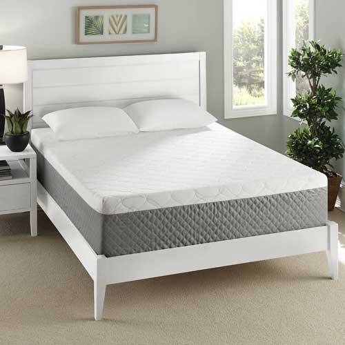 Sleep Innovations Gel Swirl Foam Mattress