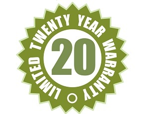 20y warranty
