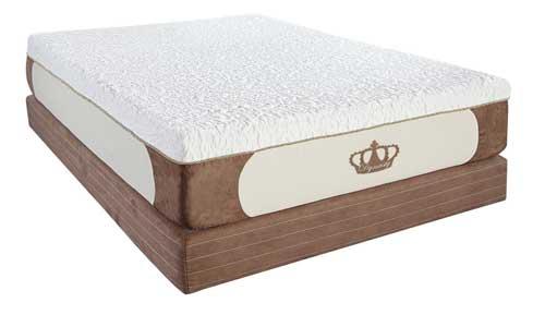 dynasty 12 inch gel foam mattress