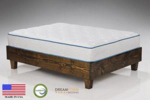 Dreamfoam Bedding Arctic Dreams 10-Inch Gel Memory Foam Mattress