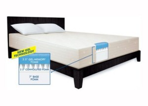 Serta 12 Inch Gel Memory Foam Review Ohmattress Com